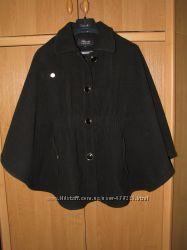 пальто-болеро черное