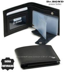 Кожаный мужской кошелек, портмоне, бумажник М61 ЕК19