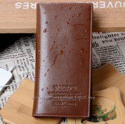 Качественный мужской кошелек, портмоне, бумажник 2 Цвета ЕК0