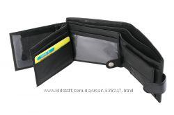 Кожаный мужской кошелек, портмоне, бумажник М2. Натуральная кожа УЦЕНКА