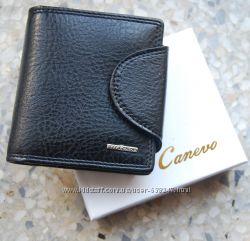 Мужской кошелек, портмоне, бумажник Canevo. Кошелек с зажимом. ЕК90