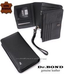 Кожаный мужской кошелек, мини-борсетка, клатч М29 Натуральная Кожа EK23