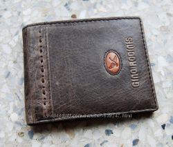 Тонкий мужской кожаный кошелек, портмоне G. Rodidis ЕК84