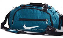Спортивная сумка Nike, дорожная Найк с отделом для обуви КСС68-1