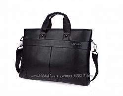 Мужская сумка-портфель под документы формата А4  KC101
