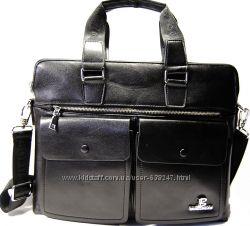 Мужская качественная, стильная сумка-портфель Bolumas А4 КС103
