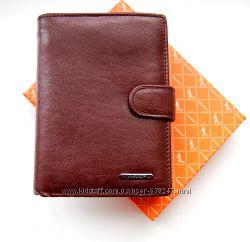 Мужской кошелек, бумажник из натуральной кожи ЕК65-2