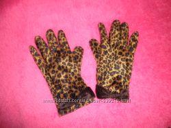 Продам леопардовые перчатки 7р-ра