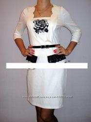 Платье трикотажное 2 цвета