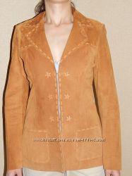 Эксклюзивный пиджак кожа США