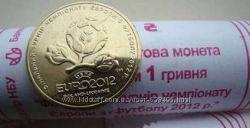 1 гривня 2012 рік - ЄВРО  ЕВРО 2012 із роліка