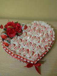 Букеты из конфет к юбилею,  8 Марта, любому торжеству