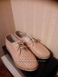 Мокасины, туфли. , перфарация