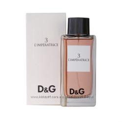 Dolce Gabbana 3 LImperatrice на прямую от парфюмерного дома