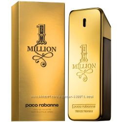 Оригинальный аромат 1 Million Paco Rabanne на прямую от парфюмерного дома.