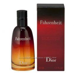 Оригинальный арома Fahrenheit Christian Dior на прямую от парфюмерного дома