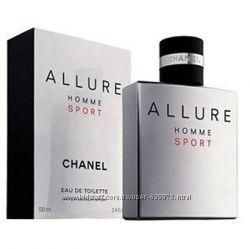 Оригинальный арома Allure Homme Sport Chanel на прямую от парфюмерного дома