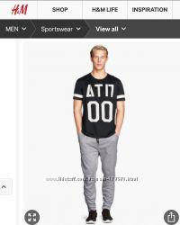 Спортивные штаны H&M L и XL