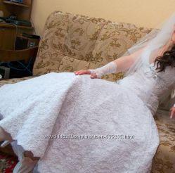 свадебное платье от дизайнера Татьяны Кахиани