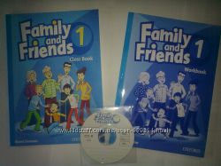 Family and Friends 1 Classbook Workbook