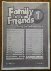 Family and Friends 1, 2, 3, 4, 5, 6 Testing тесты