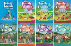 Family and Friends Starter, 1, 2, 3, 4, 5, 6 2nd edition