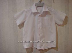 Белоснежная рубашка на мальчика