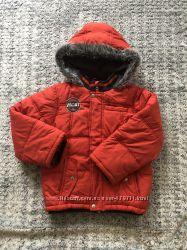 Теплая курточка mothercare