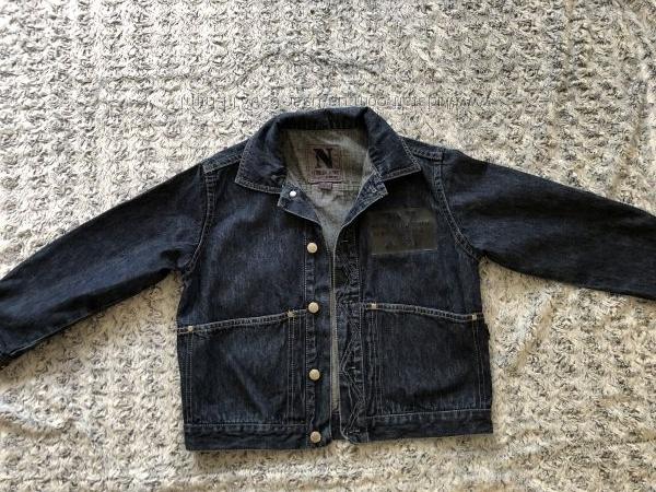 Модная джинсовая курточка на мальчика