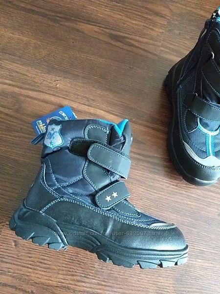 Зимние ботинки для мальчиков мeekone 31 размер