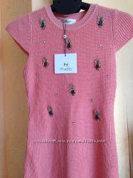 Вязаное платье-туника FendFand