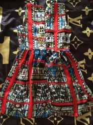Стильное шелковое летнее платье