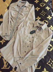 Фирменные модные блузки -рубашки MARC JACOOS