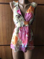Фирменная шелковая блузочка BGBGMAXAZRIA