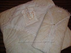 Конверт- одеяльце на выписку для новорожденного
