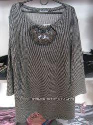 Туника нарядная блуза F&F Tesco