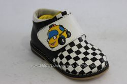 Демисезонные ботинки B&G для мальчика 20-25р Супер-цена