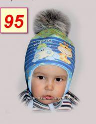 Зимние шапулечки  от 43 до 48 размер