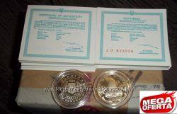 монета 200000 крб Чернобыль в капсуле сертификат