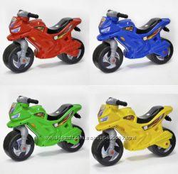 Детский двухколесный мотоцикл каталка 501, Орион Все цвета в Наличии