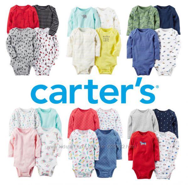 Бодики Carters комплекты для девочек