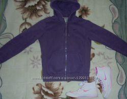 Тёплая кофта, худи Nike фиолетовая