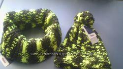 Крутой комплект шапка-снуд ernstings-family