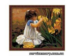 Картины по номерам 40х50см Увлекательное занятие и замечательный подарок
