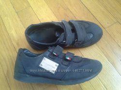 кожаные кроссовки  D&G