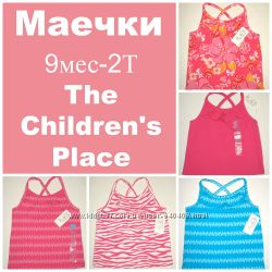 Маечки 9мес-2Т. Новые. Тhe Childrens Place