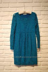 Гипюровое кружевное платье для беременных Beauty mama
