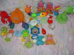большой выбор фирменных  погремушек Canpol baby, Joy Toy, Tinylove,