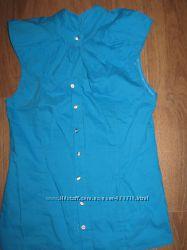 Блузка голубая новая
