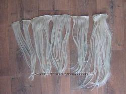 Пряди волос смешанные
